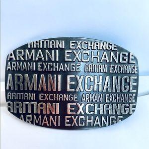 ARMANI EXCHANGE UNISEX BELT BUCKLE